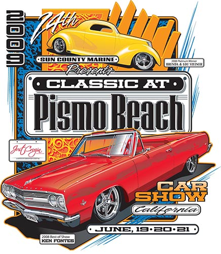 Classic At Pismo Beach Car Show Award Winners - Classic car show pismo beach